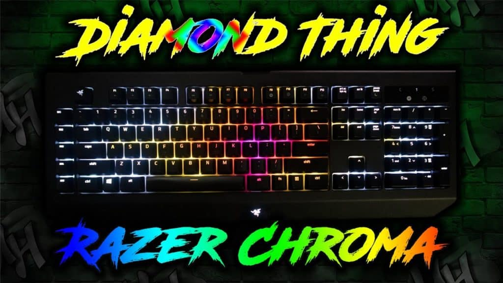"""This lighting tutorial will show you step by step how to create the """"Diamond Thing"""" design on your Razer Chroma keyboard."""