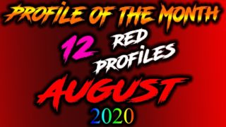 red Razer keyboard lighting profile of the month-August 2020