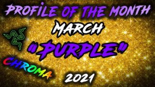 Profile of the month March 2021